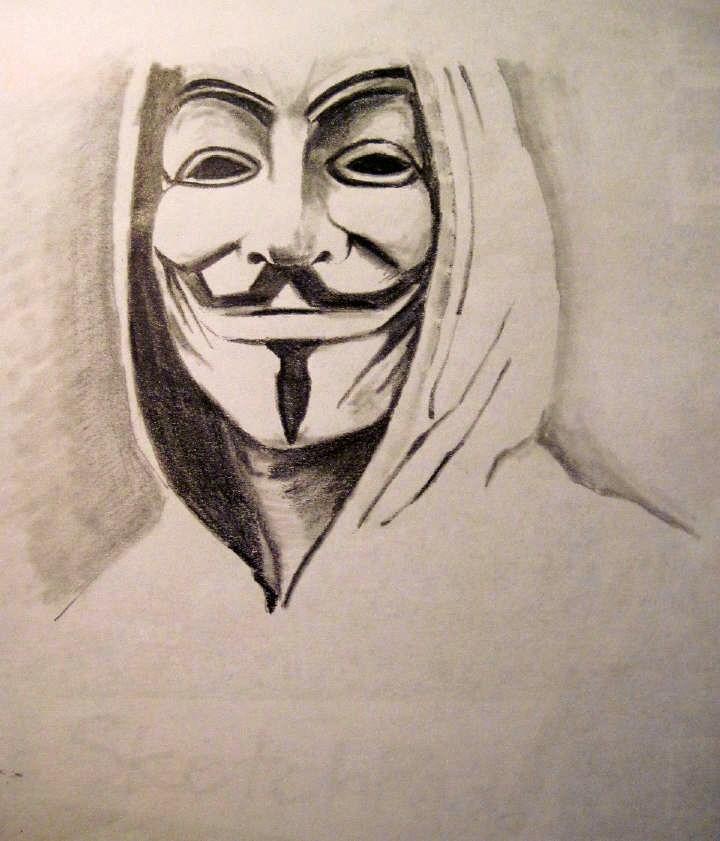 720x841 V For Vendetta Carolzart