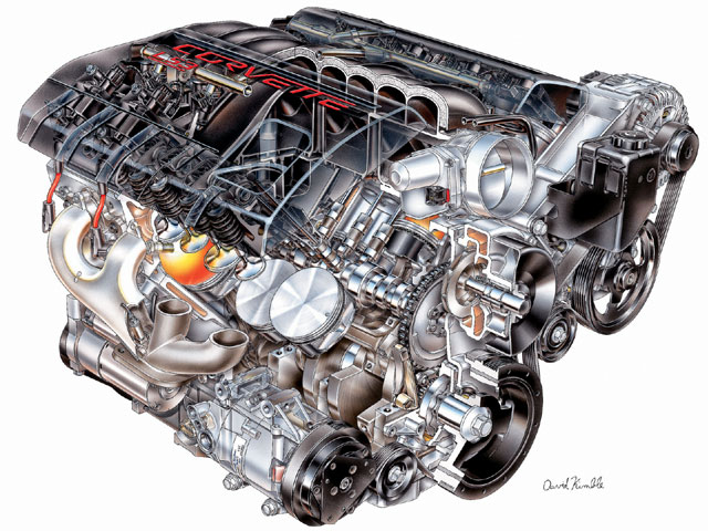 V8 Engine Drawing at GetDrawings com Free for personal
