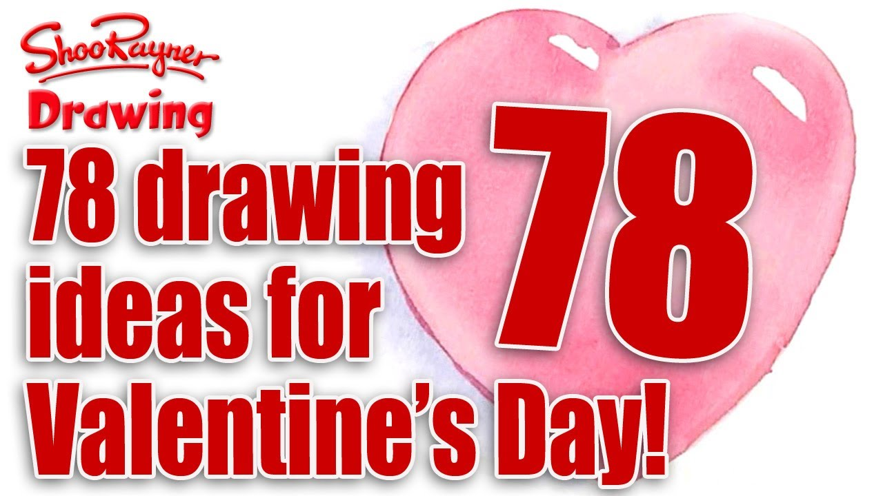1280x720 78 Valentine's Day Card Drawing Ideas!