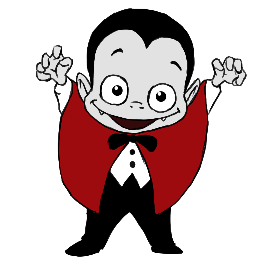1024x1024 Dracula Drawing Pictures Face How To Draw A Cartoon Vampire 14