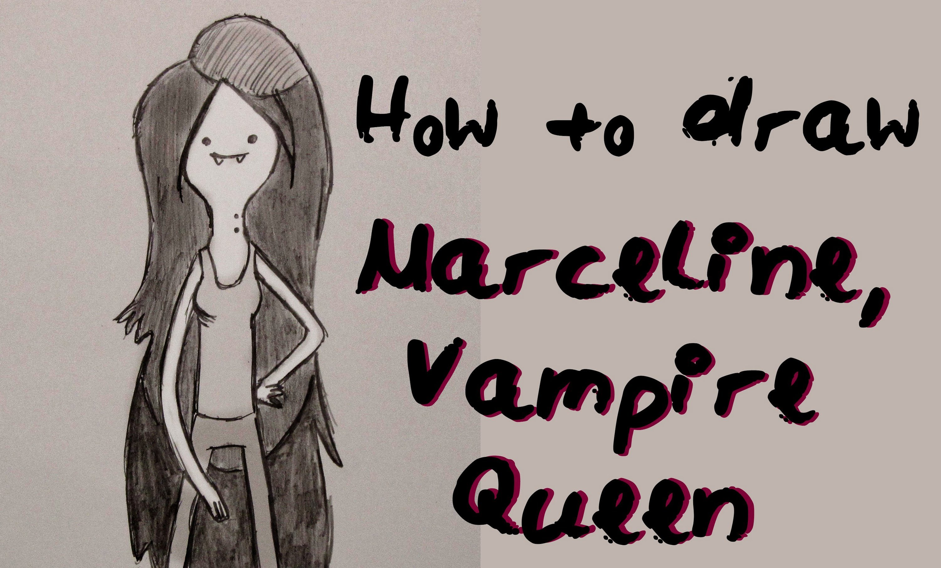 3000x1810 Ep. 14 How To Draw Marceline The Vampire Queen