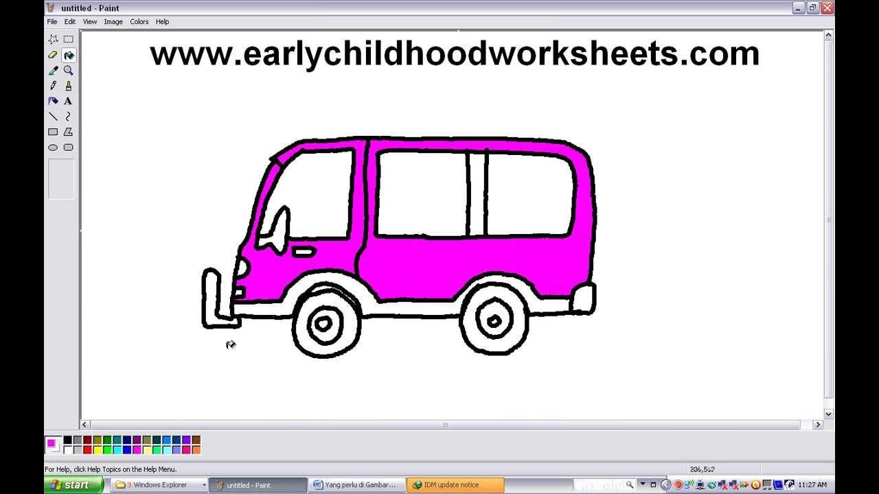 Van Drawing at GetDrawings.com   Free for personal use Van Drawing ...
