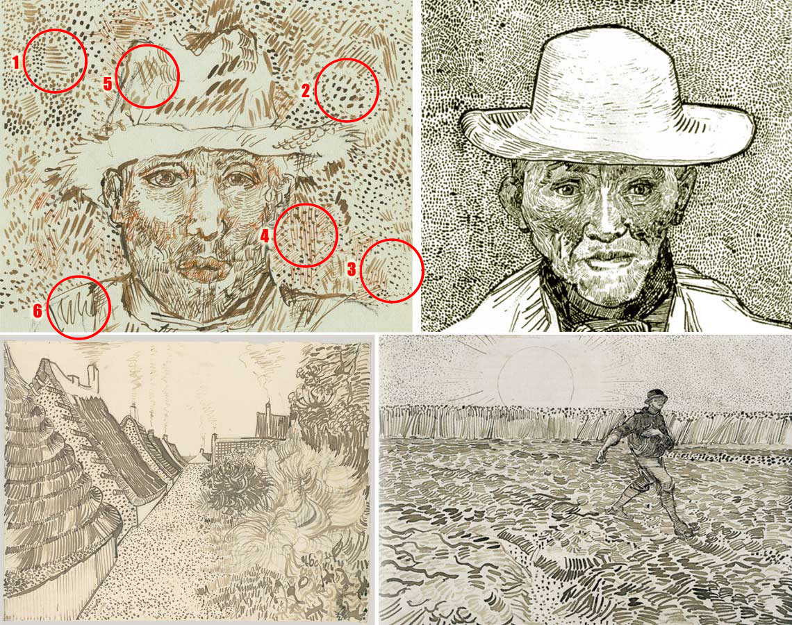 1140x900 Is This Van Gogh Real Or Fake Assessing A Found Van Gogh Drawing