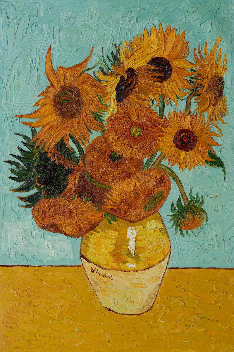800x1200 Art. Eat. Tie Dye. Repeat. 2nd Grade Van Gogh Sunflowers