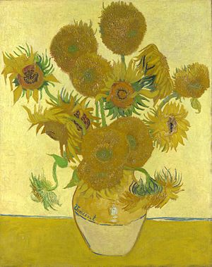 300x379 Sunflowers (Van Gogh Series)