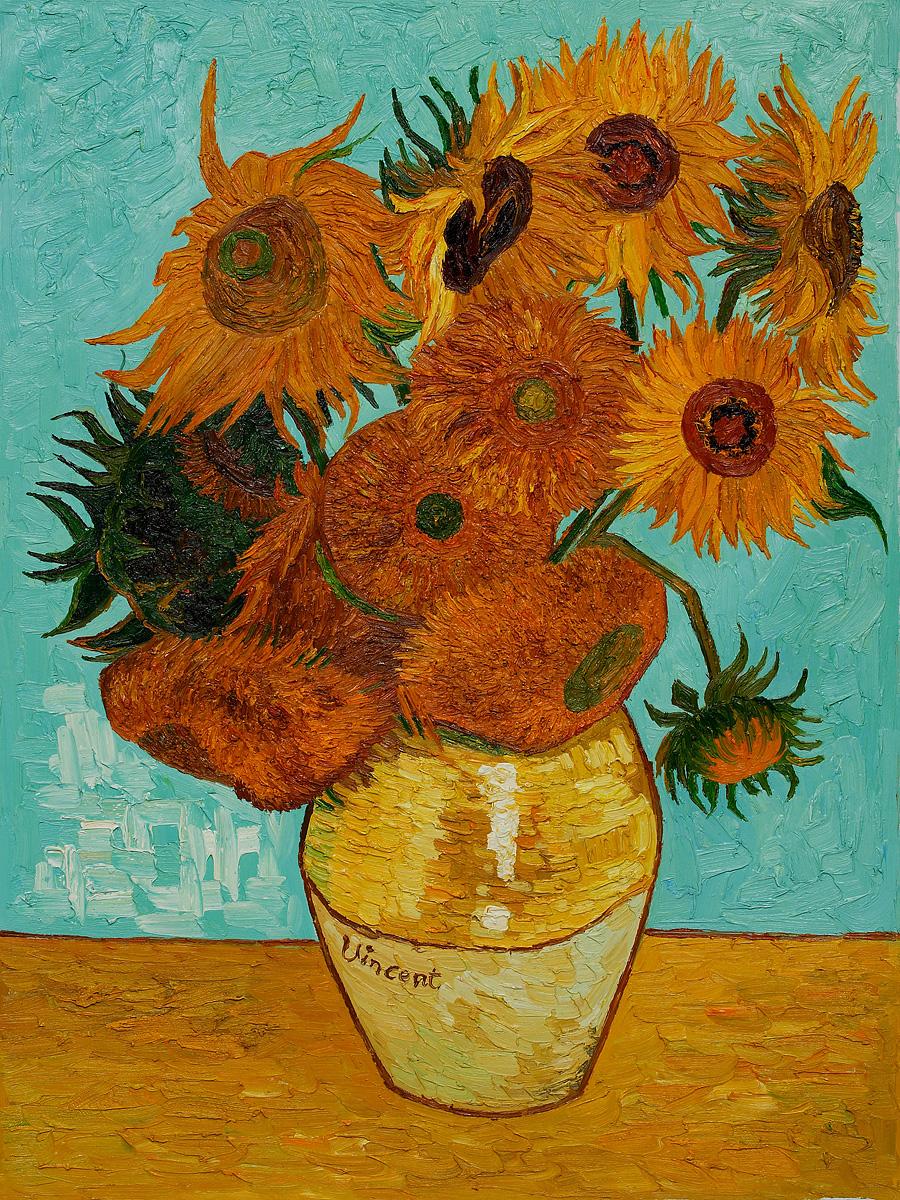 900x1200 Sunflowers By Vincent Van Gogh [Fg 181]