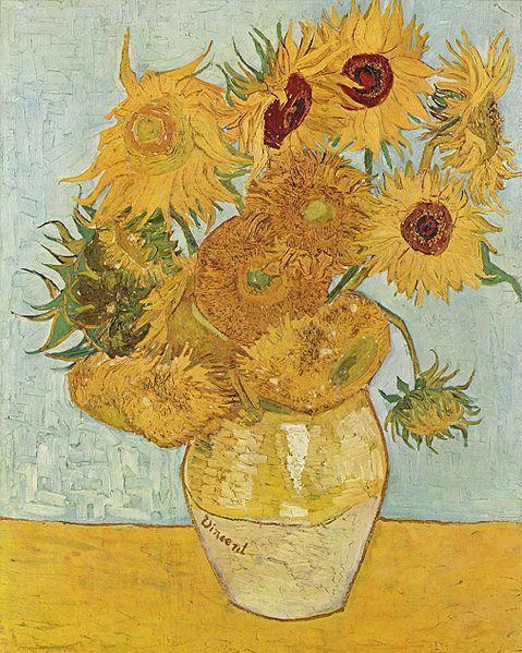 479x599 Vincent Van Gogh Vase With 12 Sunflowers Vincent Van Gogh