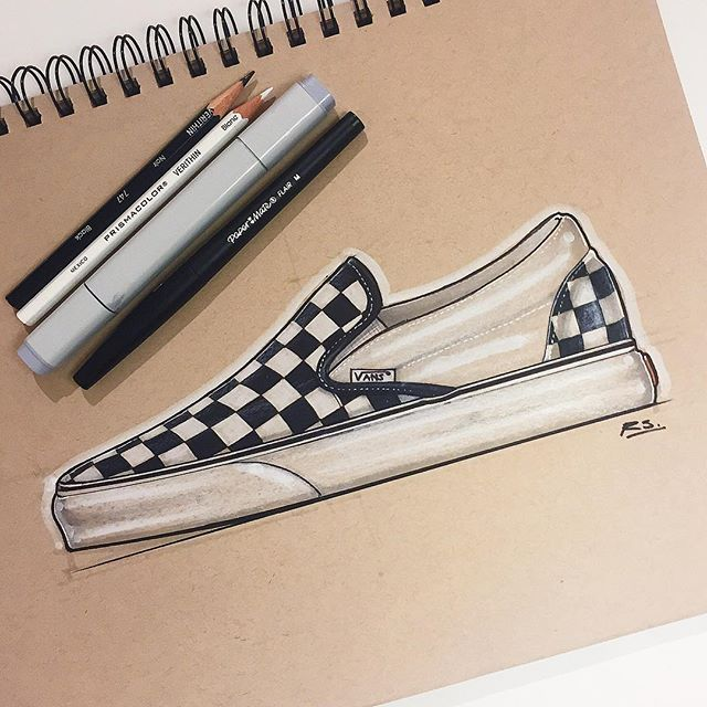 640x640 My Favorite Shows Growing Up @vans Classic Checkerboard Slip Ons