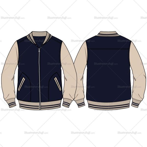 varsity jacket drawing at getdrawings com free for personal use