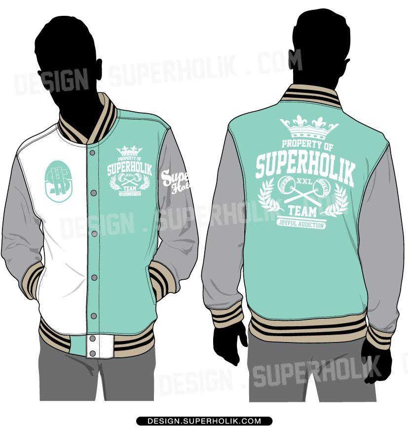 Varsity Jacket Drawing at GetDrawings.com | Free for personal use ...