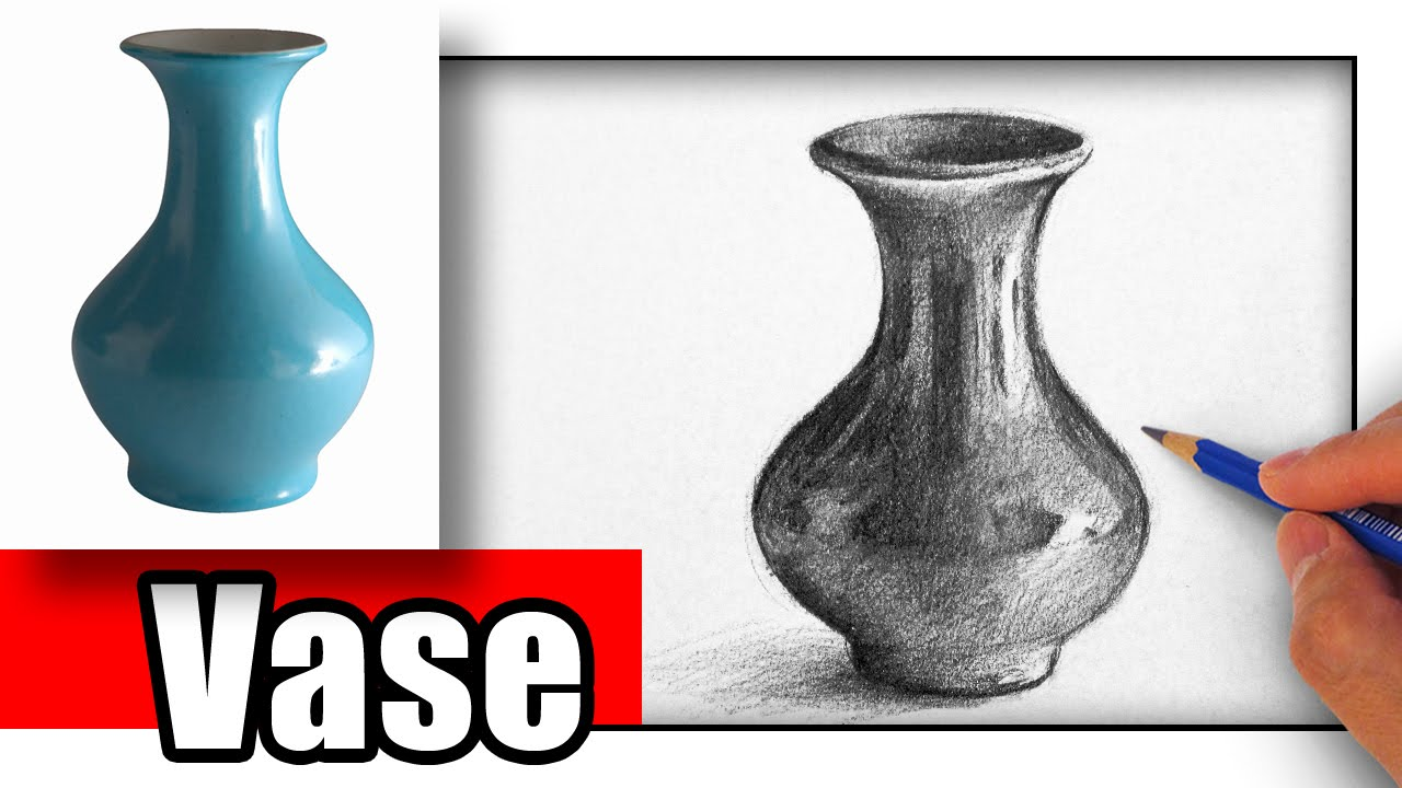 1280x720 How To Draw A Vase With Pencil