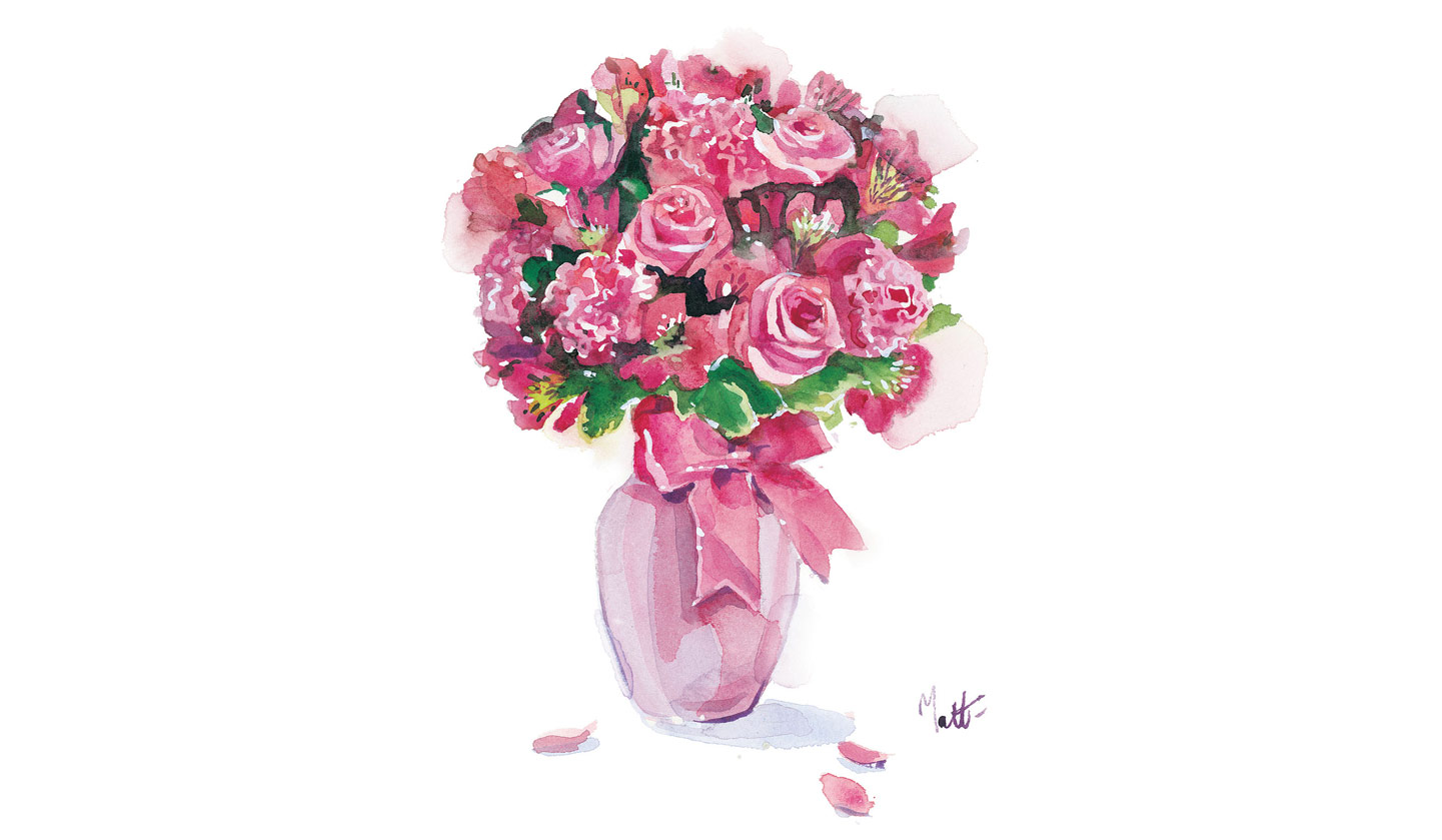 Vase of flowers drawing at getdrawings free for personal use 1441x839 flowers vase beautiful izmirmasajfo