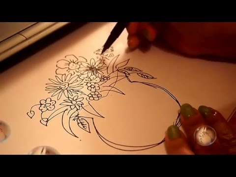 480x360 Vase Of Flower Drawing And Coloring