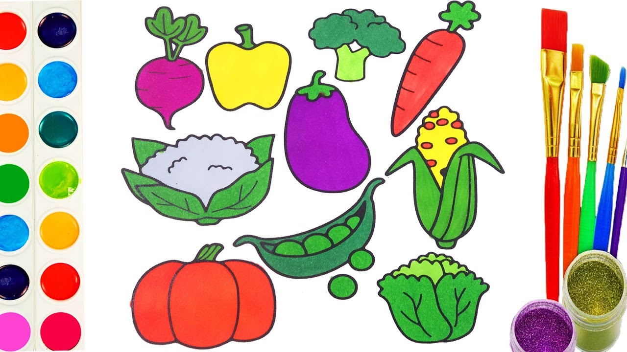 Vegetable Drawing at GetDrawings.com | Free for personal use ...