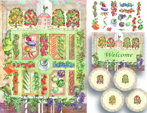 Vegetable Garden Drawing at GetDrawings.com | Free for personal use