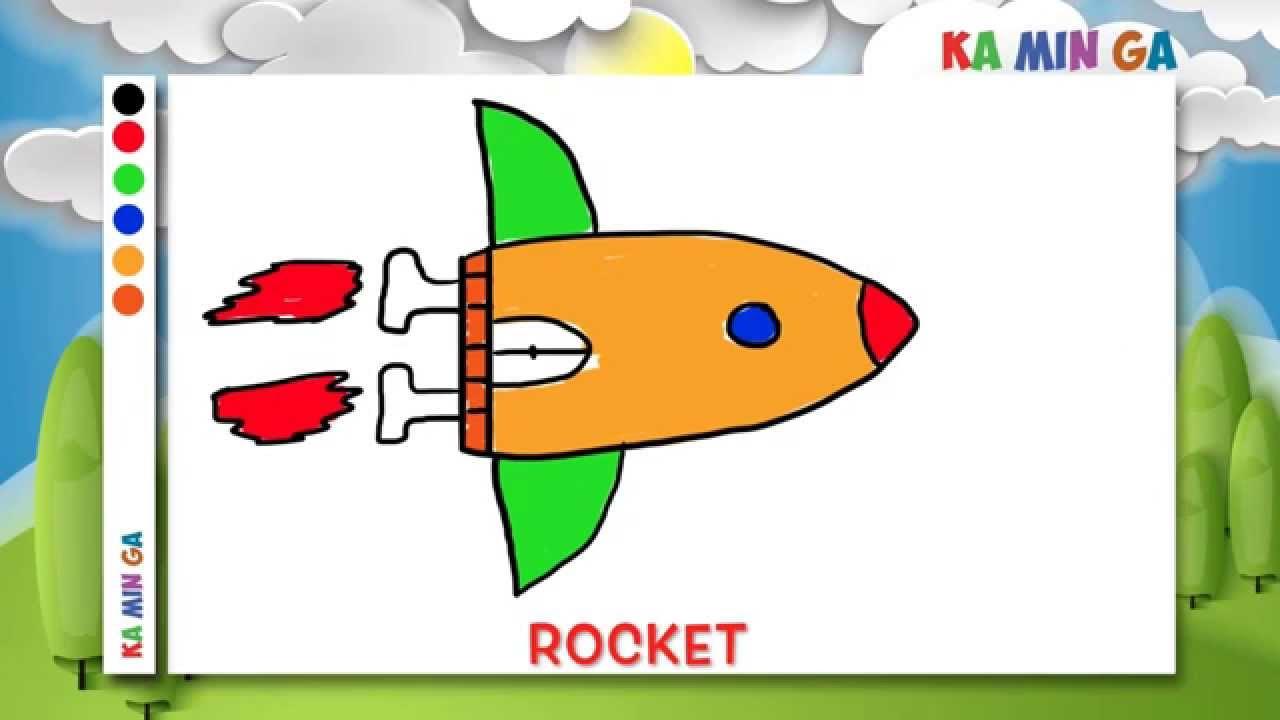 1280x720 Kaminga Vehicles Drawing For Kids