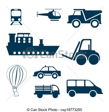 450x461 Vehicles Design Over White Background Vector Illustration Clipart