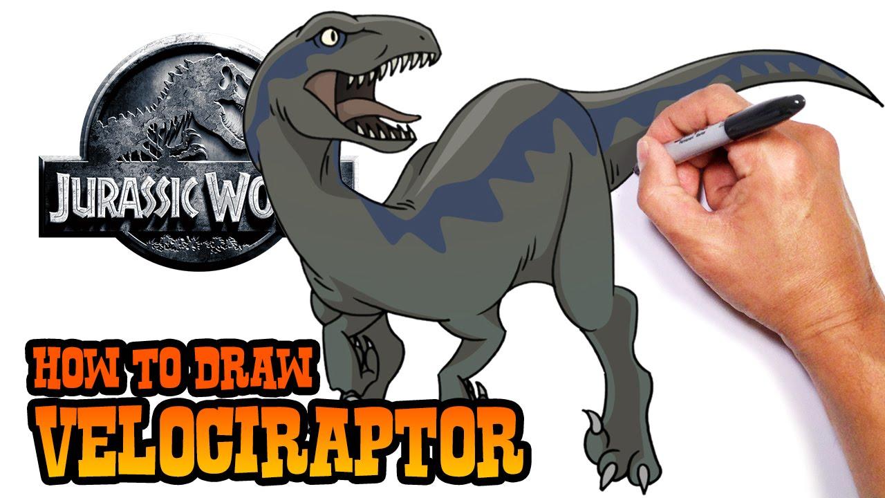 1280x720 How To Draw Velociraptor Jurassic World
