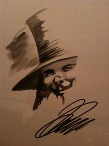 225x300 Original David Lloyd V For Vendetta Drawing Ebay