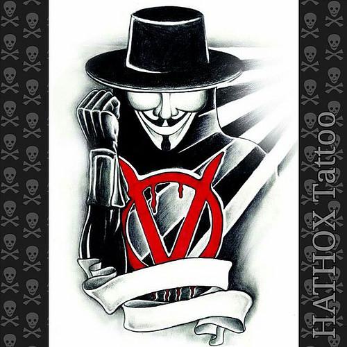 500x500 V For Vendetta