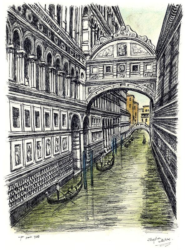 596x800 Bridge Of Sighs In Venice