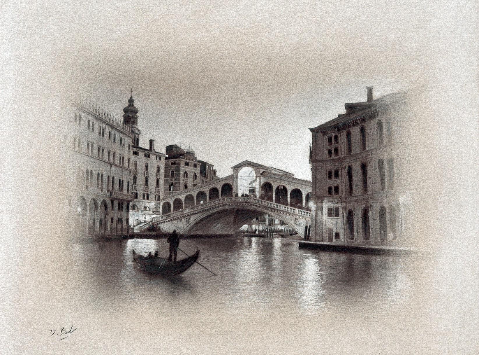 1644x1217 Study Of Venice