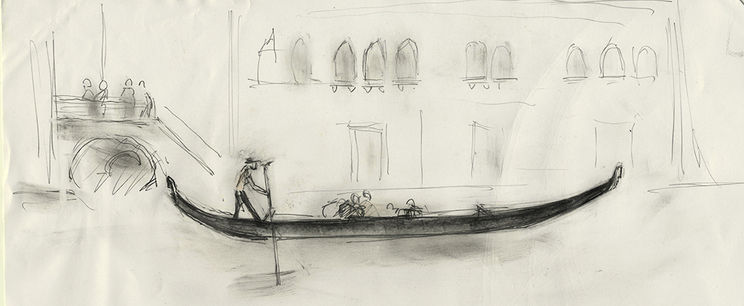 1056x435 Drawing And Illusion Images Of Venice