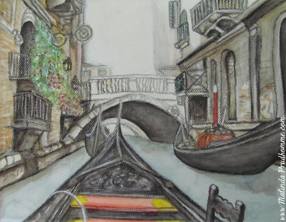 1000x776 Gondola Venice Canal Italy