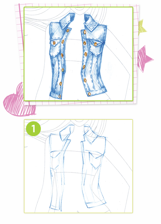 how to draw jean wrinkles