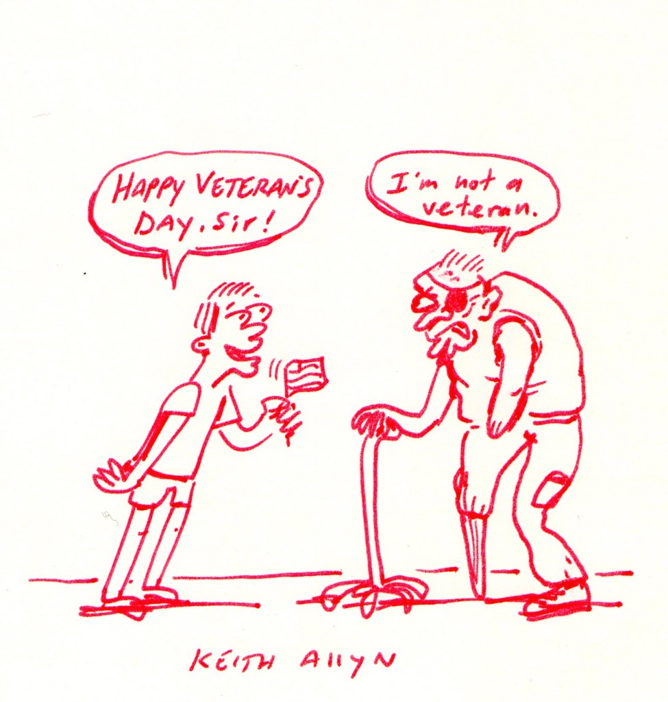 975x1024 Happy Veterans Day Keith Allyn Spencer