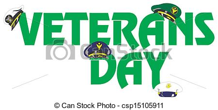 450x228 Veterans Day Vector Clip Art