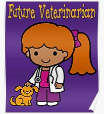 210x230 Veterinarian Drawing Posters Redbubble