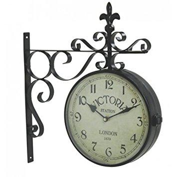 355x355 Vintage Victoria Station Railway Station Clock London