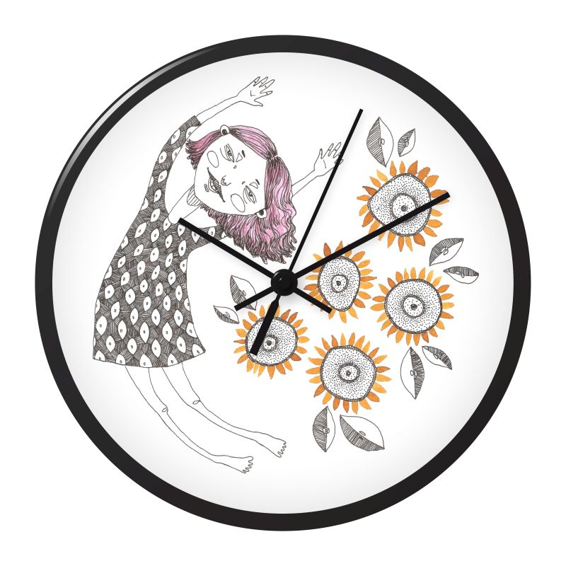 800x800 Design A Wall Clock Doodlers Anonymous