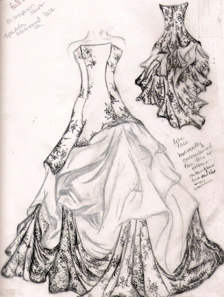 736x973 Clothes Design Drawings