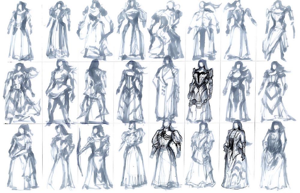 1000x646 Design Process 1 Victorian Steampunk Thief 1 Tim Guo Design