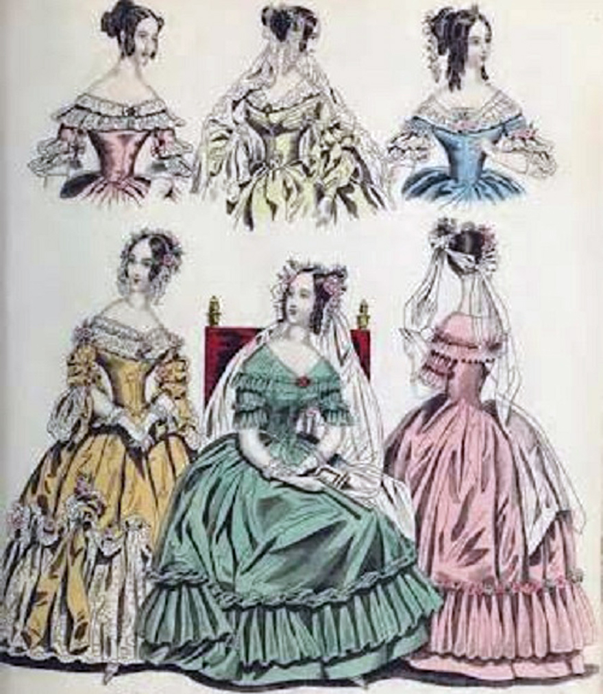 Victorian Dress Drawing at GetDrawings.com | Free for personal use ...