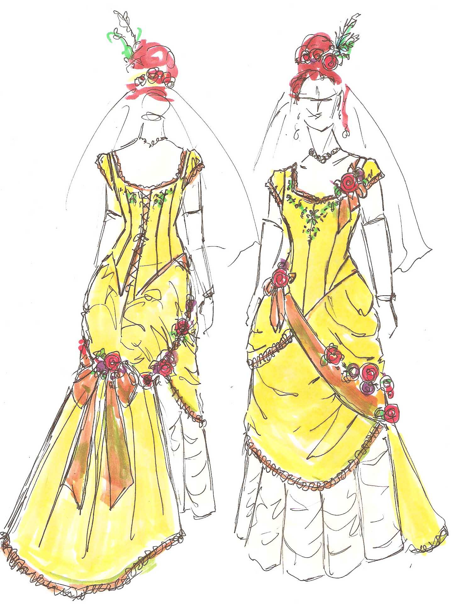 1437x1930 Victorian Petticoat Denver Dressmakers