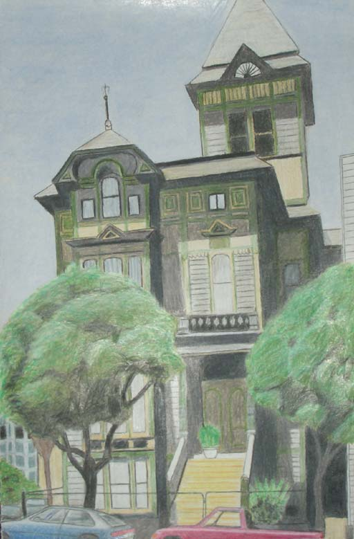 512x779 Filevictorian Era House In San Francisco, California (Drawing