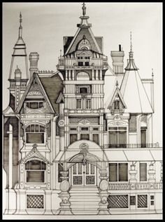 236x316 Victorian House Drawings