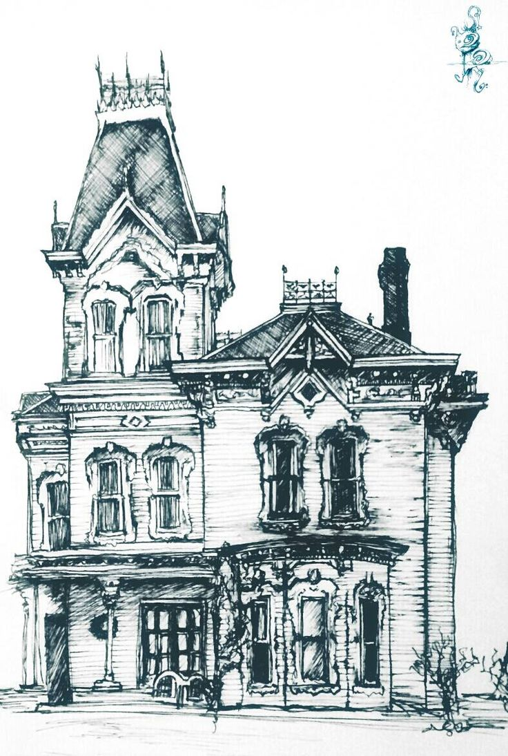 victorian house drawings houses drawing at getdrawings free for 15332