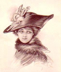 252x297 Victorian Lady Sketch Love The Victorian Era