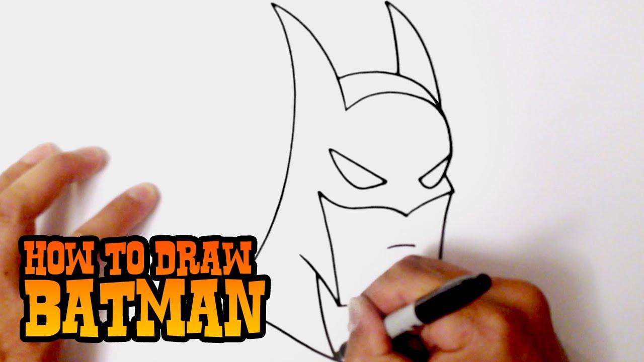 1280x720 How To Draw Batman