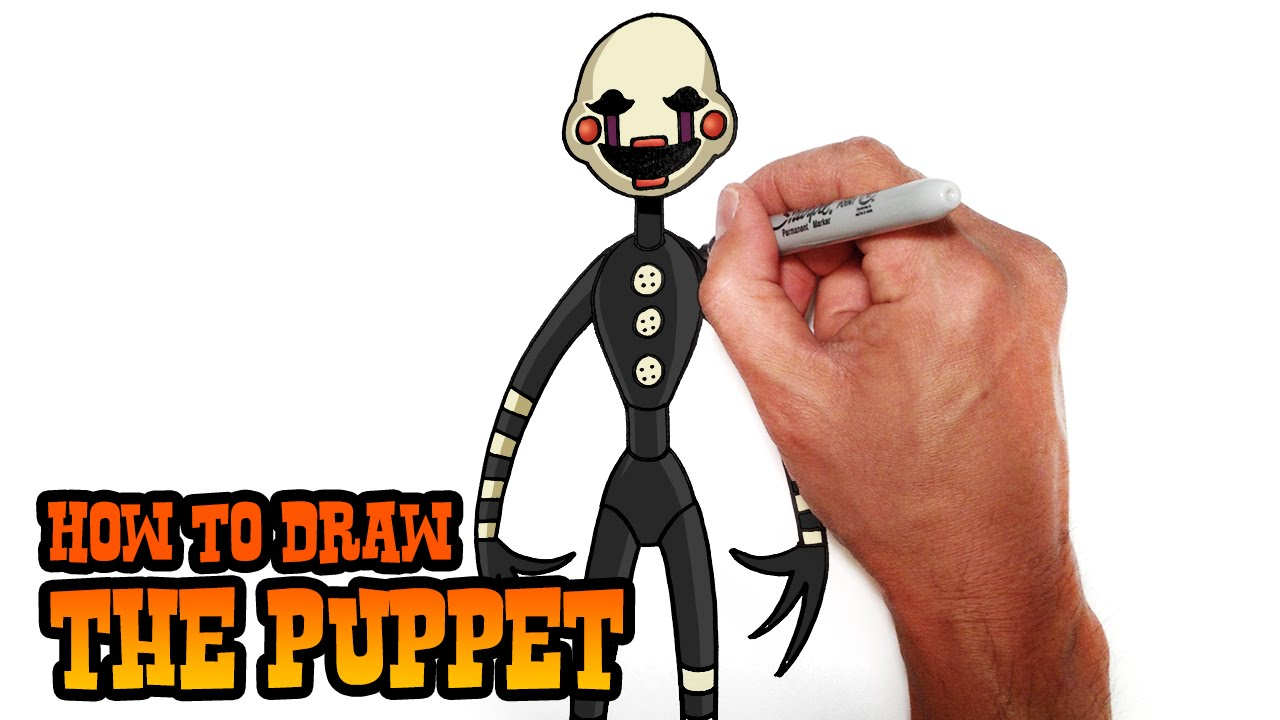 1280x720 How To Draw The Puppet Five Nights
