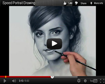 215x172 Speed Drawing Video. How To Draw Video, Dry Brush