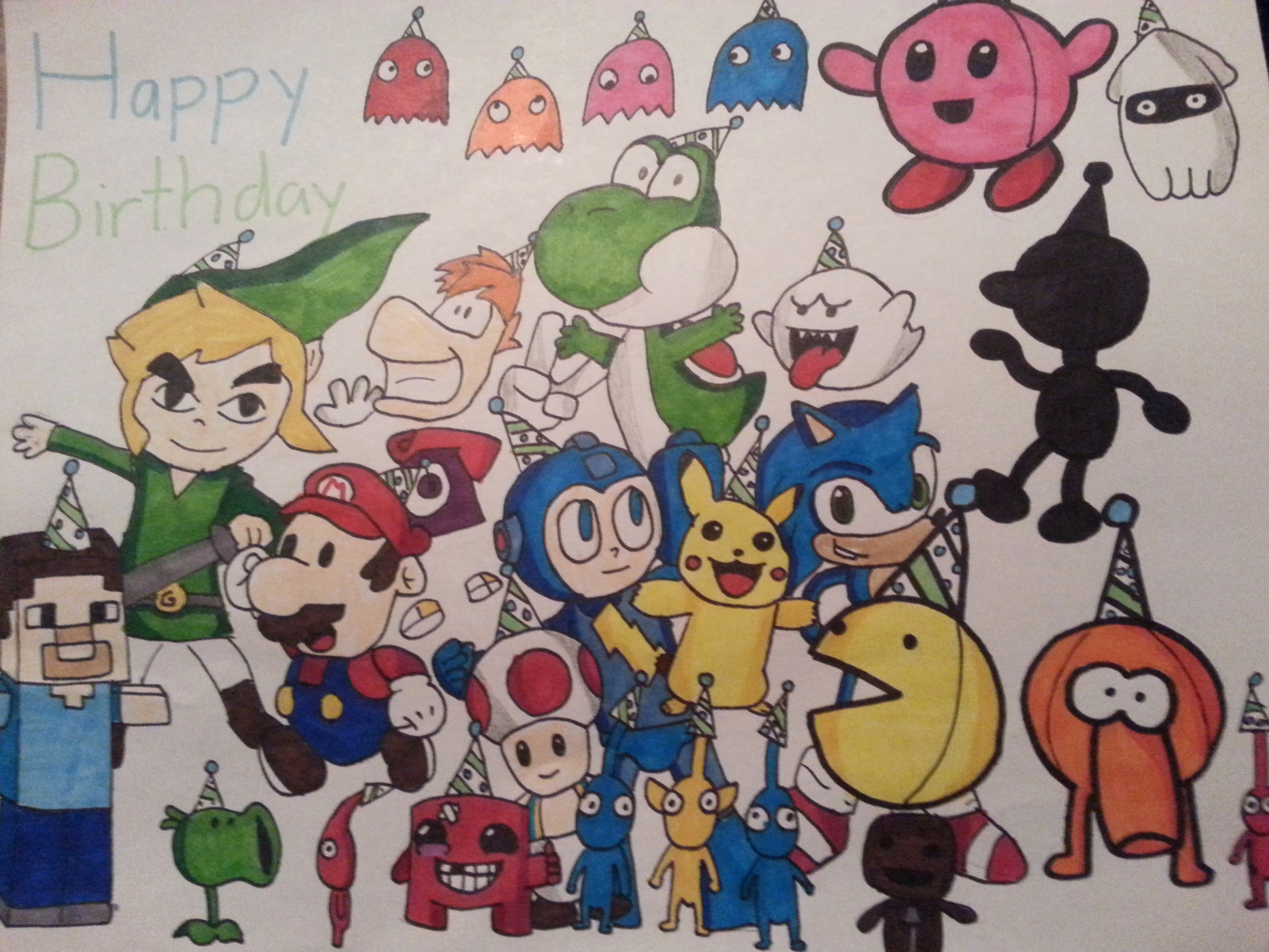3264x2448 Overwatch Birthday Card Fresh Video Game Character Birthday Card