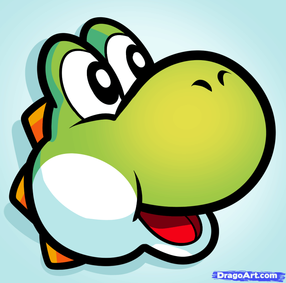 915x903 How To Draw Yoshi Easy, Step By Step, Video Game Characters, Pop