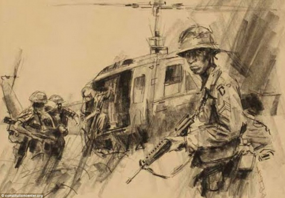 964x671 Dramatic Artwork By Us Soldiers Shows A Century Of War Through