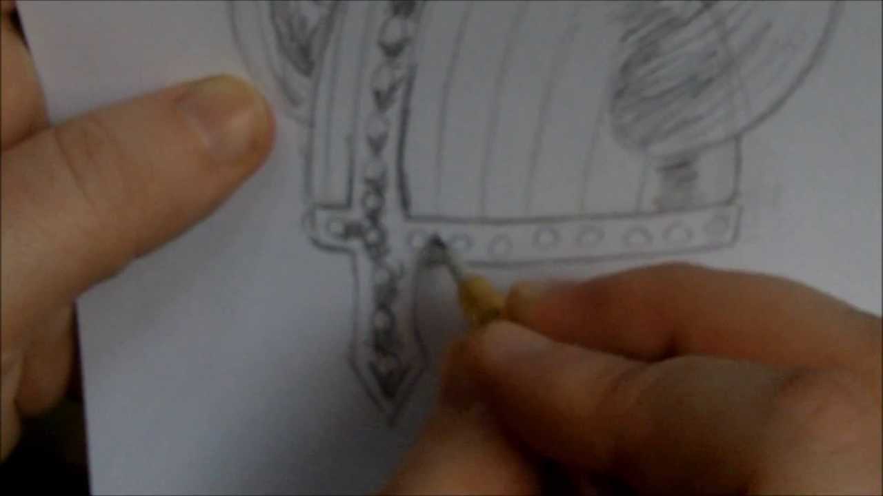 1280x720 How To Draw A Viking Helmet