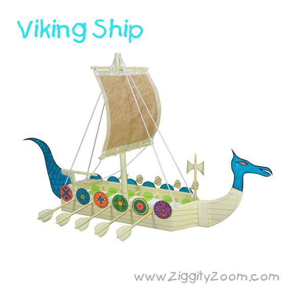 576x576 Easy Diy Viking Ship Craft From Recycled Items Ziggity Zoom